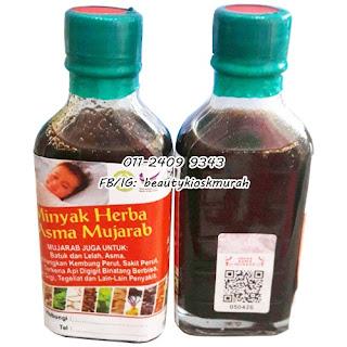 Minyak Herba Asma Mujarab Original
