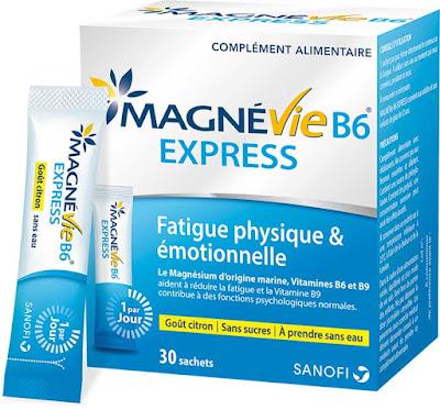 Échantillon Gratuit Complément Alimentaire MagnéVie B6 Express !