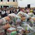 Igreja Àgape em Pilar doa mais de 300 cestas básicas a famílias carentes no natal