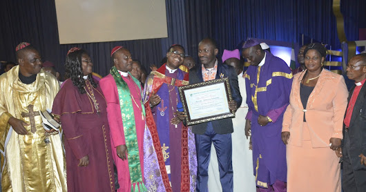 Apostle Johnson Suleman Becomes Nigerian Bishops Patron & Also Bags Youth Award