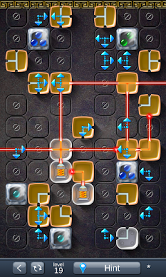 Solution for Laser Box - Puzzle (Royal) Level 19