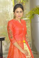 Simrat in Orange Anarkali Dress 20.JPG