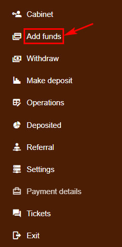 Создание депозита в InvIbe
