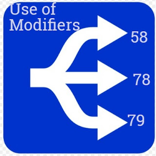 How to differentiate between Modifier 58, 78 & 79