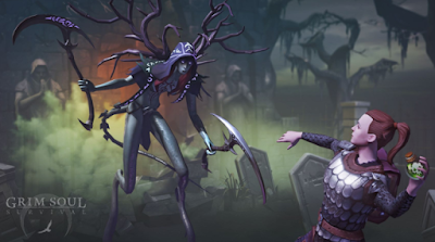 Grim Soul: Dark Fantasy Survival MOD (Free Craft) Apk Download