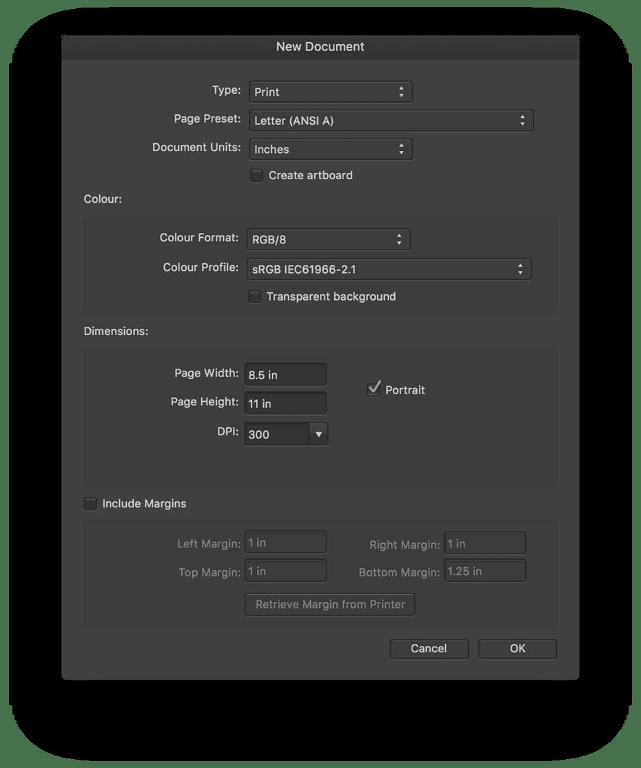 Review ulasan lengkap Affinity Designer - Import Eksport File