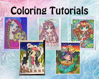 coloring tutorials for chibi anime