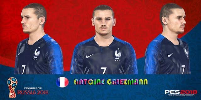 Antoine Griezmann Face PES 2018