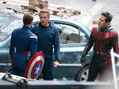 avengers endgame set photos