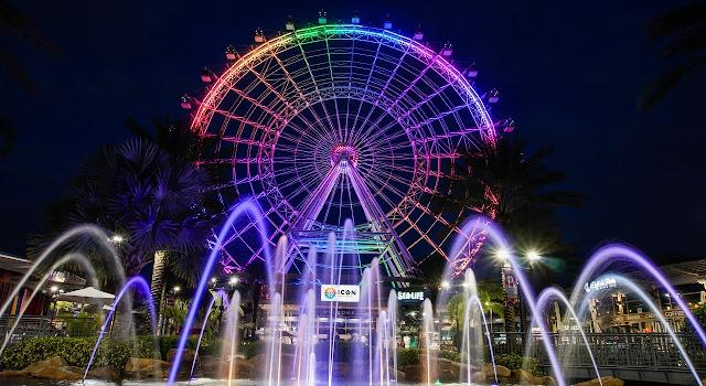 Show noturno da ICON Orlando