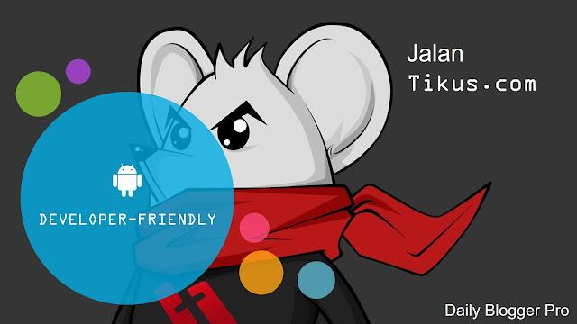 Jalantikus.com is developer-friendly