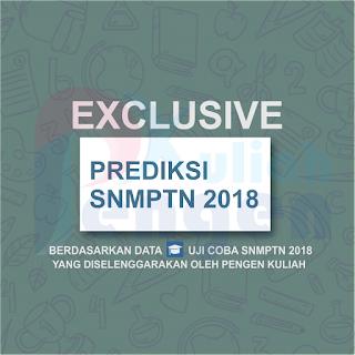 Prediksi SNMPTN 2018 by Pengen Kuliah