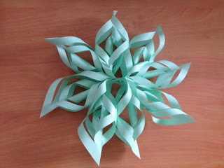 paper star christmas