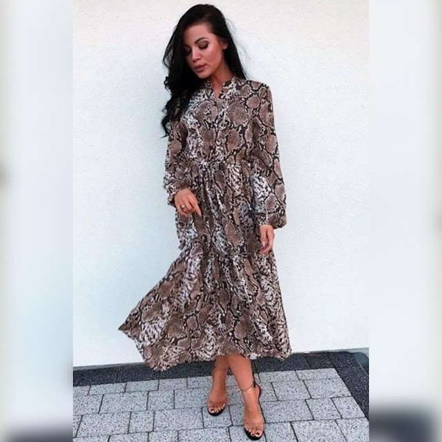 Εντυπωσιακό μίντι φόρεμα MARVA
