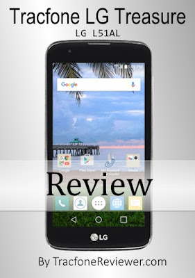 Below is our review for the new LG Treasure Tracfone LG Treasure L51AL Review