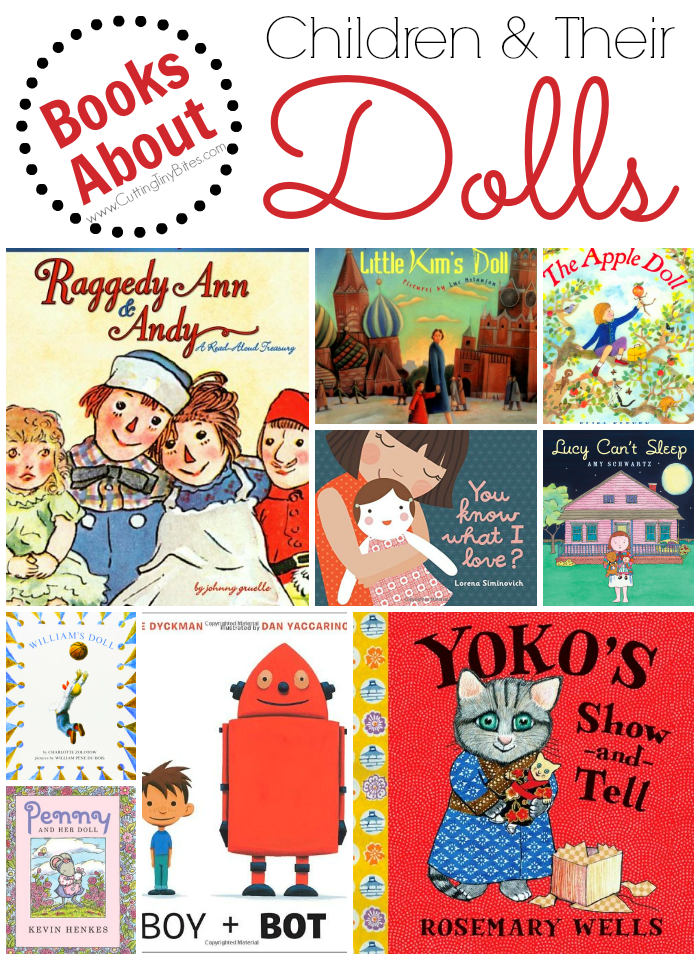 Childrens picture books that capture the special relationship between children and their dolls. Brief reviews of each.