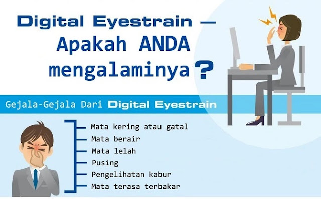 Gejala dari Digital Eyestrain