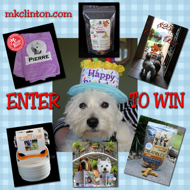 Prize package for dogs