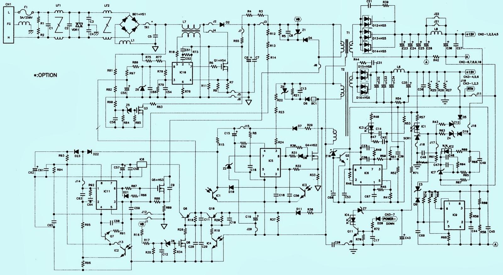 Electronics Kingdom: Schematy i instrukcje serwisowe