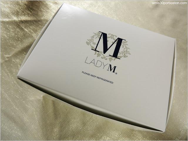 Caja Confitería de Boston Lady M