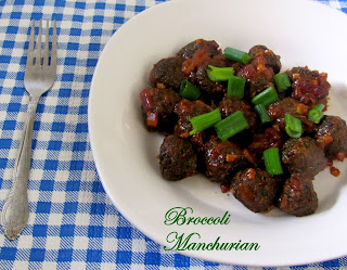 Broccoli Manchurian