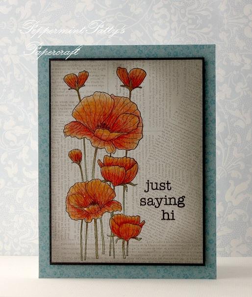 Peppermint Patty S Papercraft Just Saying Hi Hero Arts