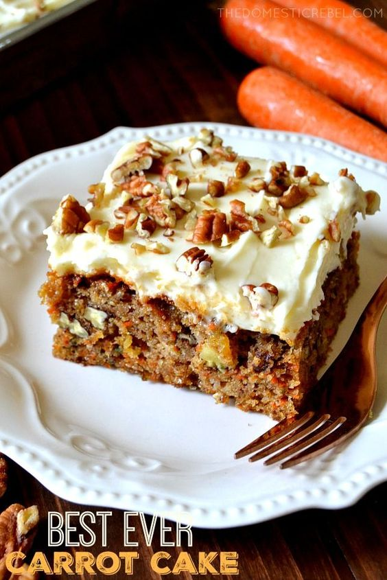 107 Recipe Perfect Carrot Cake With Cream Cheese Frosting: The Best Ever Carrot Cake With Cream Cheese Frosting