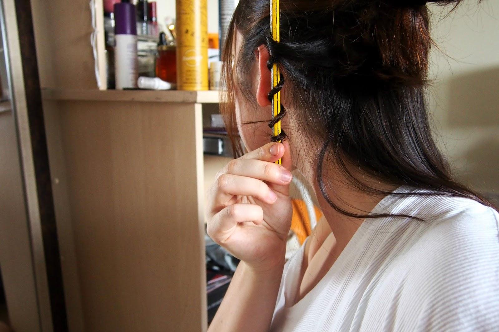 Pencil curls