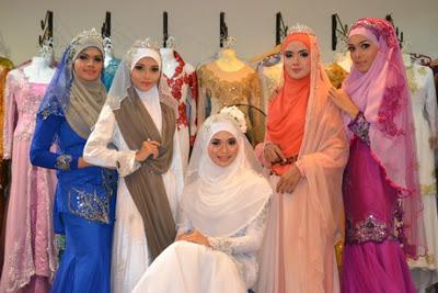 Pesona Indah Hantaran B2b Muslimah Wedding Outfit Yang Menutup