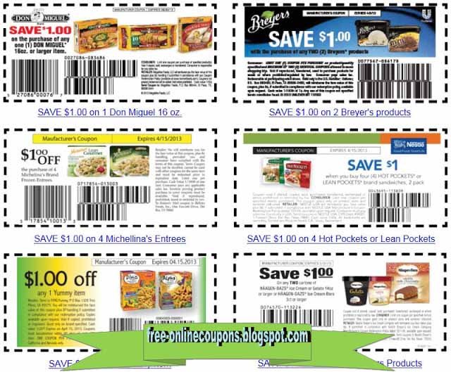 Grocery coupons to print
