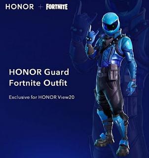 Honor View 20 Pastikan Bisa Bermain Fornite