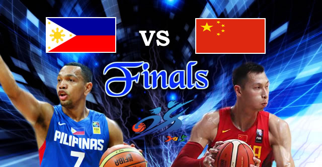 List of 2015 FIBA Asia Championship Complete Game Results Scores Schedules - FINALS