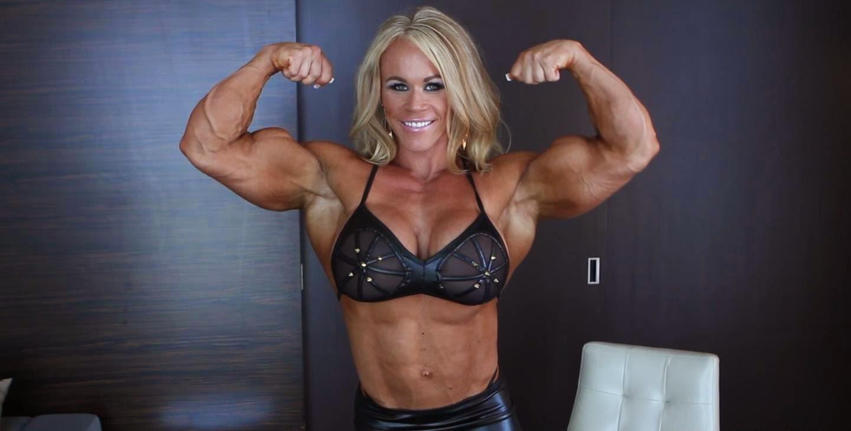 Consider, that huge female bodybuilder aleesha young confirm