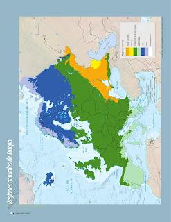 Apoyo Primaria Atlas de Geografía del Mundo 5to. Grado Capítulo 2 Lección 4 Regiones Naturales de Europa