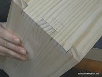 Probar y ajustar la unión de lazos rectos. http://www.enredandonogaraxe.com