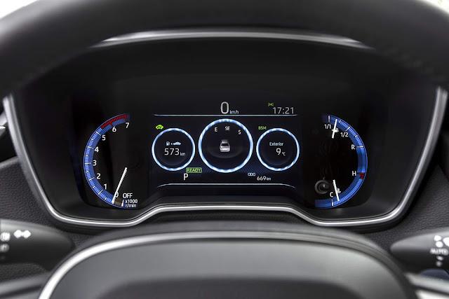 Novo Corolla 2020 Hybrid - interior