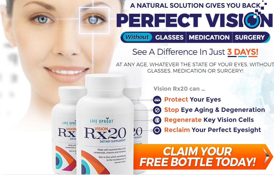 Vision RX 20 - Eye Repair Supplement