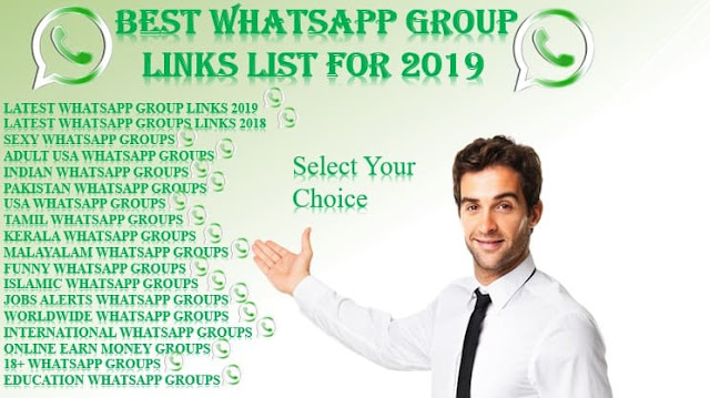 Whatsapp Group Links List Of 2019