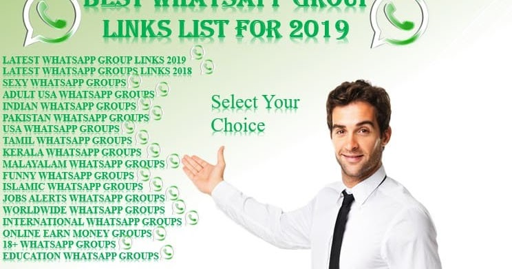 Whatsapp Group Links List Of 2019 - GroupsFor | Tech, WhatsApp, Android