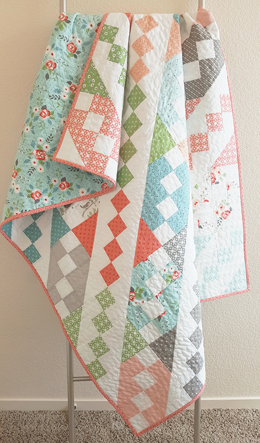 Jane's Ladder Quilt Free Tutorial