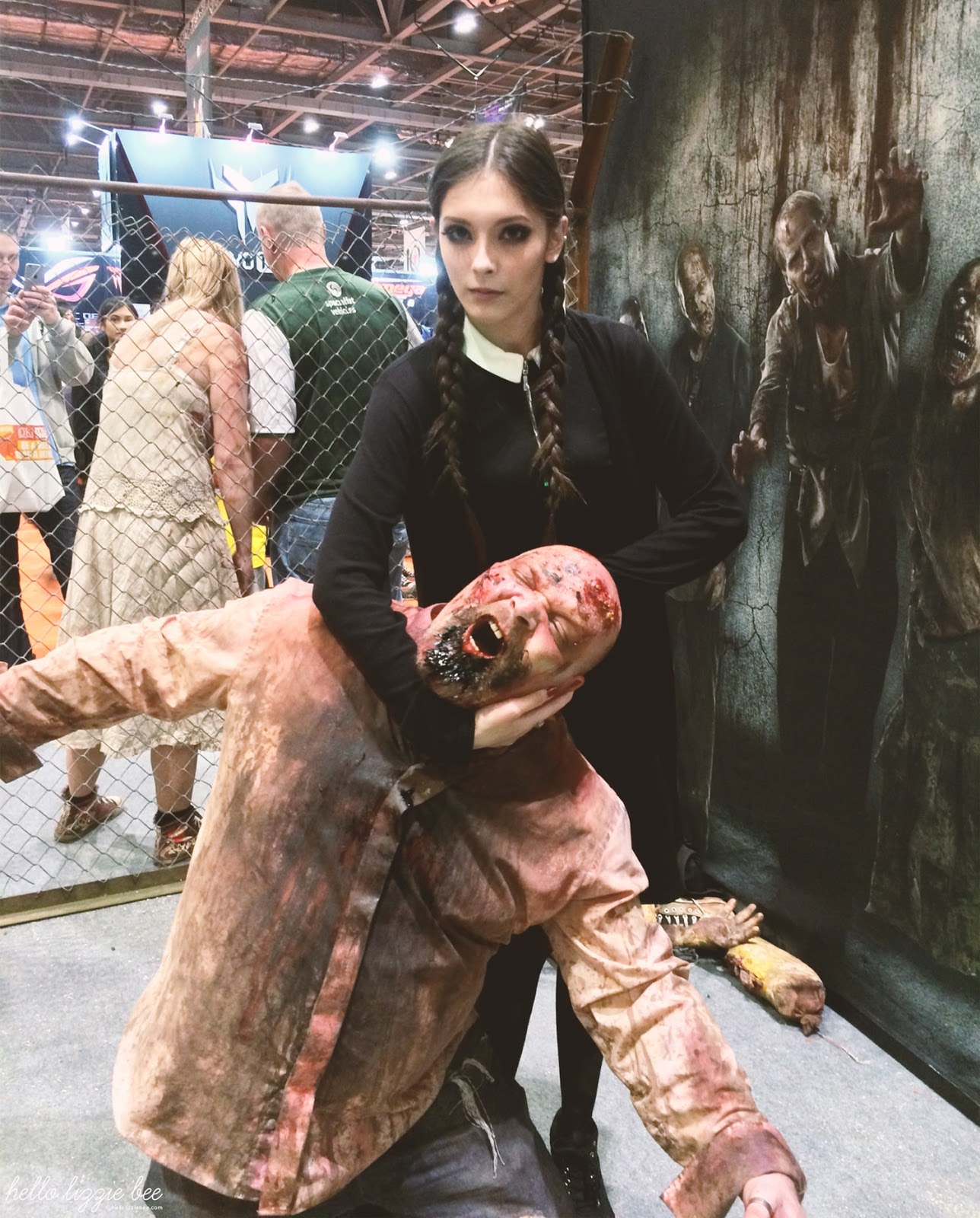 zombie, the walking dead, mcm expo, cosplay