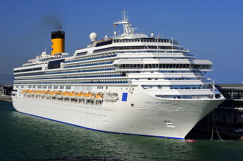 Naufrágio do Costa Concordia na Itália