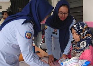 Napi Wanita Lapas Tulungagung Lahirkan Bayi Laki-Laki Dan Bayinya Di Rawat Di Dalam Lapas