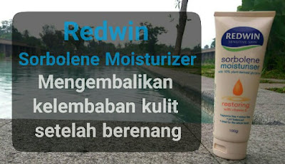 Kulit sehat berkat Redwin Sorbolene Moisturizer yang sesuai untuk semua jenis kulit