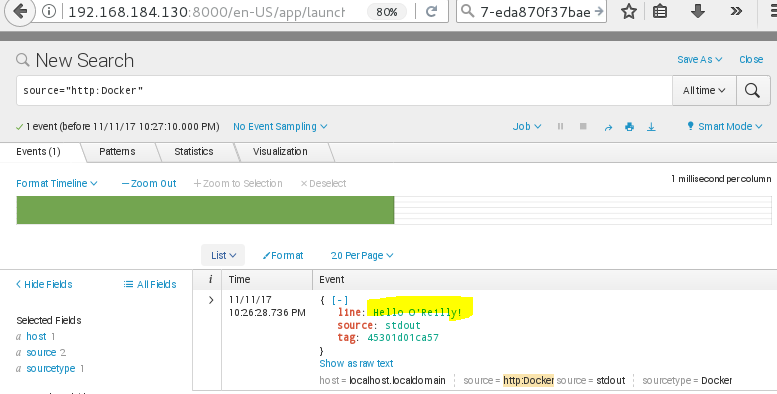logging drivers| splunk | --log-driver=json-file | --log