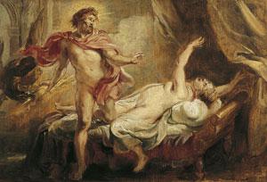 Semele'nin ölümü