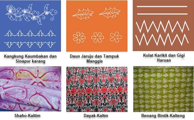 Motif Hias Kalimantan