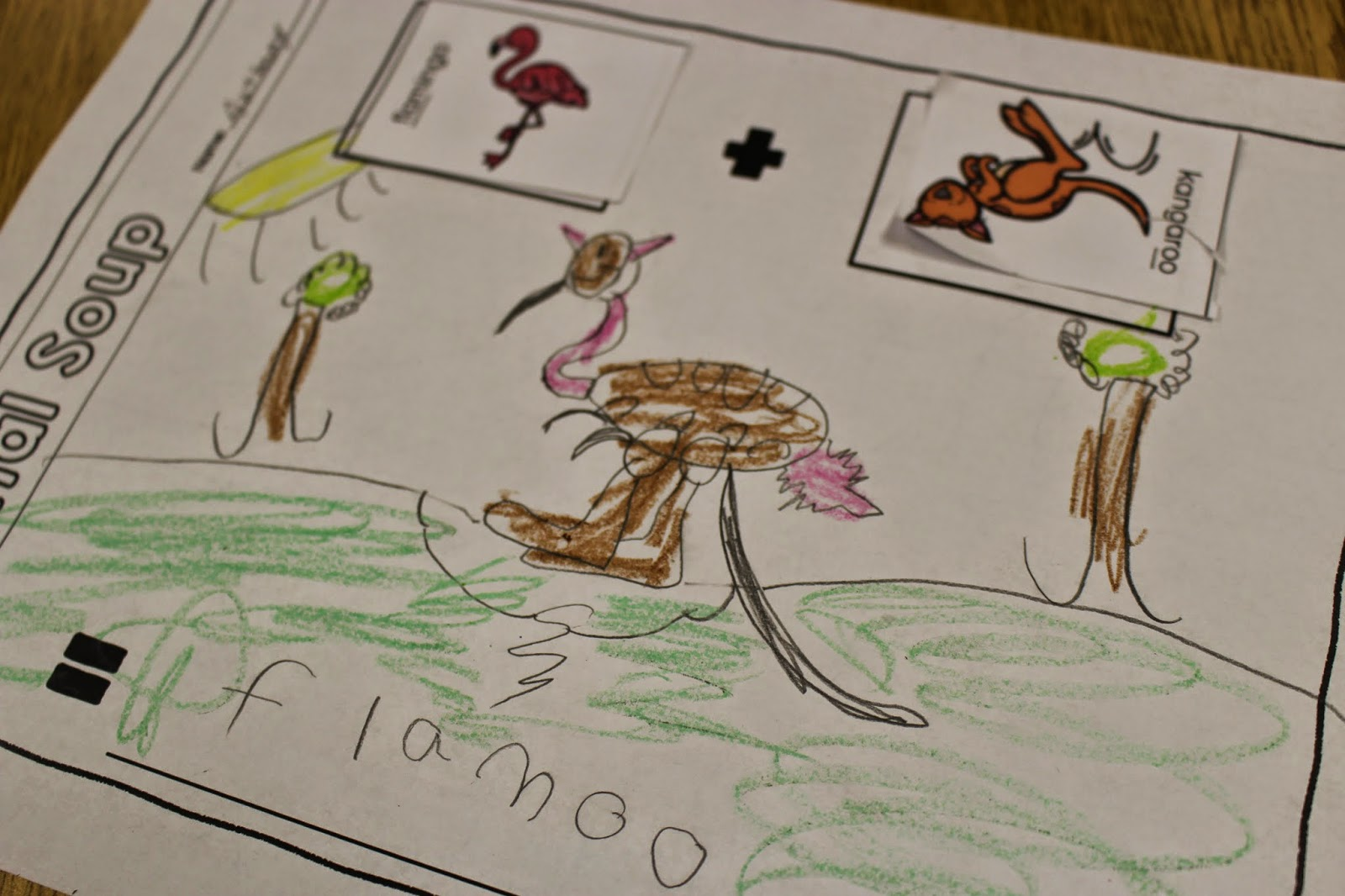 Animal Soup A Divergent Thinking Activity For K 2