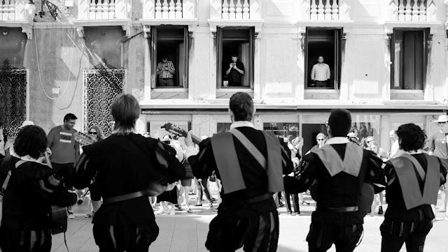 Musicisti per le strade di Venezia