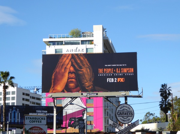 People v OJ Simpson FX billboard
